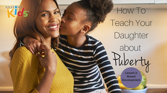 anatomy for kids, teach your daughter about puberty, lesson 2: breast development