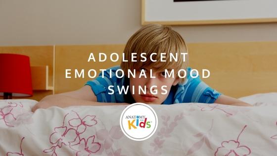 Mood swings, anatomy for kids, emotional