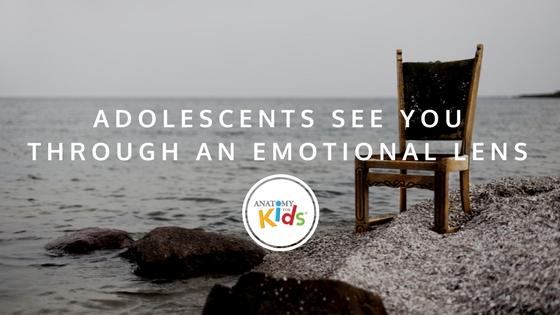 emotional, emotional lens, brain development, anatomy for kids, puberty