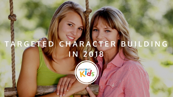 character, character building, anatomy for kids, teens